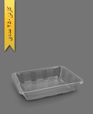 دو پرس 4 سانت شفاف - ظروف یکبار مصرف پریما