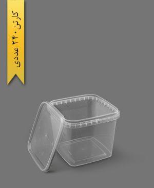 سطل ماکروویو 1100cc - ظروف یکبار مصرف پولاد پویش