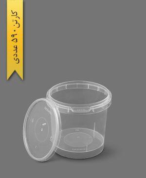 سطل ماکروویو 150cc شفاف - ظروف یکبار مصرف پولاد پویش