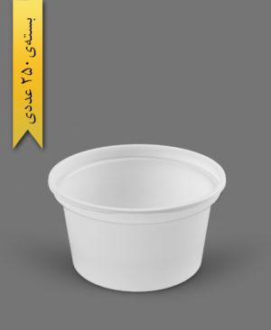 سطل ماستی 850cc - ps - 15gr - ظروف یکبار مصرف پیشگامان
