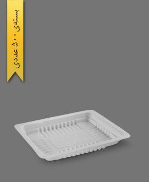 کرکره نیم پرسی 2cm - ps - ظروف یکبار مصرف پیشگامان