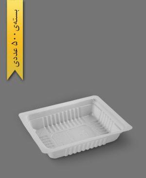 کرکره نیم پرسی 3cm - ps - ظروف یکبار مصرف پیشگامان