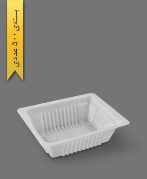 کرکره نیم پرسی 4cm - ps - ظروف یکبار مصرف پیشگامان