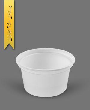 سطل ماستی 850cc - ps - 12gr - ظروف یکبار مصرف پیشگامان