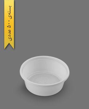 خورشتی سفید ps - ظروف یکبار مصرف پیشگامان