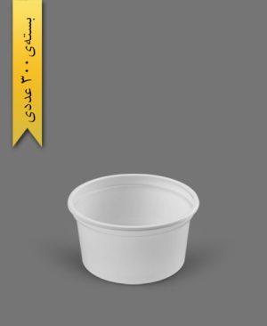 سطل ماستی 400cc - ps - 7gr - ظروف یکبار مصرف پیشگامان