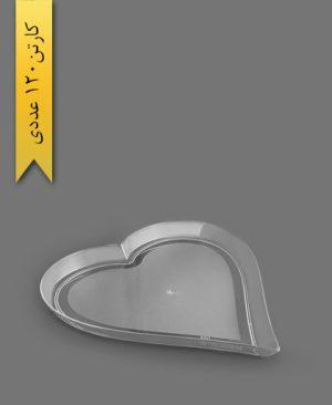 سینی قلبی بزرگ - ظروف یکبار مصرف کوشا