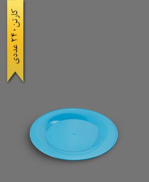 بشقاب کیک خوری گرد تم تولد - ظروف یکبار مصرف کوشا