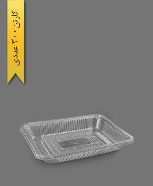دوپرس 3 سانت شفاف سنگین - ظرف یکبار مصرف تاب فرم