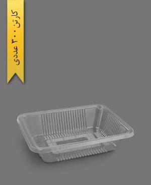 دوپرس 5 سانت شفاف سنگین - ظرف یکبار مصرف تاب فرم