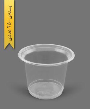ماستی 1700cc شفاف - ظروف یکبار مصرف رویا پلاستیک