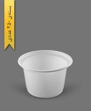 ماستی 1300cc شیری - ظروف یکبار مصرف رویا پلاستیک
