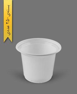 ماستی 1700cc شیری - ظروف یکبار مصرف رویا پلاستیک