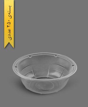 کاسه 1000cc شفاف - ظروف یکبار مصرف رویا پلاستیک