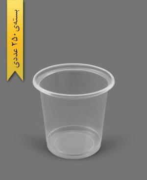 ماستی 1000cc شفاف - ظروف یکبار مصرف رویا پلاستیک