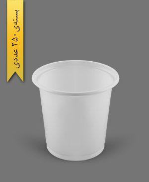 ماستی 1000cc شیری - ظروف یکبار مصرف رویا پلاستیک
