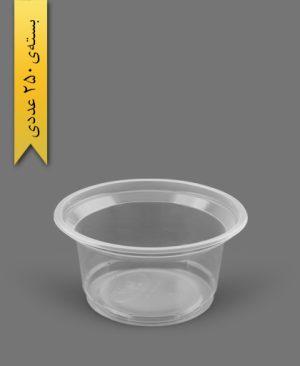 ماستی 1100cc شفاف - ظروف یکبار مصرف رویا پلاستیک