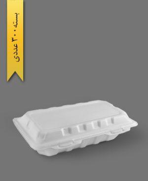 فوم یک و نیم پرس - ظرف یکبار مصرف فوم پوششهای مصنوئی