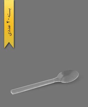 قاشق گلدن 801 - ظروف یکبار مصرف ام پی