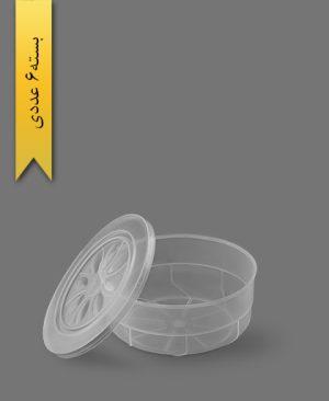 ظرف مایکروویو 500 M - ظروف یکبار مصرف طب پلاستیک